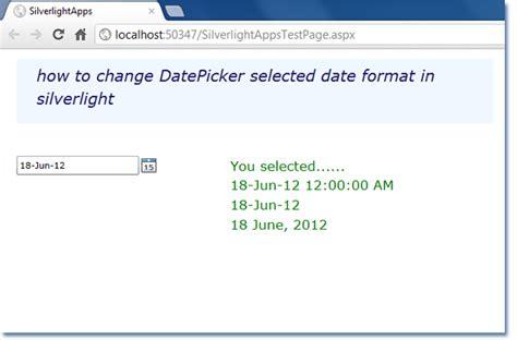 format date bind asp net c silverlight change datepicker selected date format