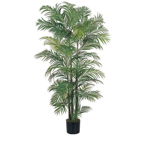 artificial palm tree 6 foot artificial areca palm tree potted 5002