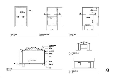 blueprints for garages 1 2 3 4 car garage blueprints