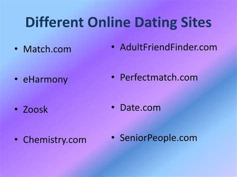 different kinds of internet dating schoolteachersform ga