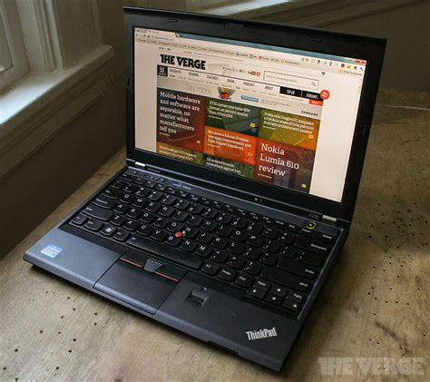 Lenovo Thinkpad X230 Tablet lenovo thinkpad x230 review the verge