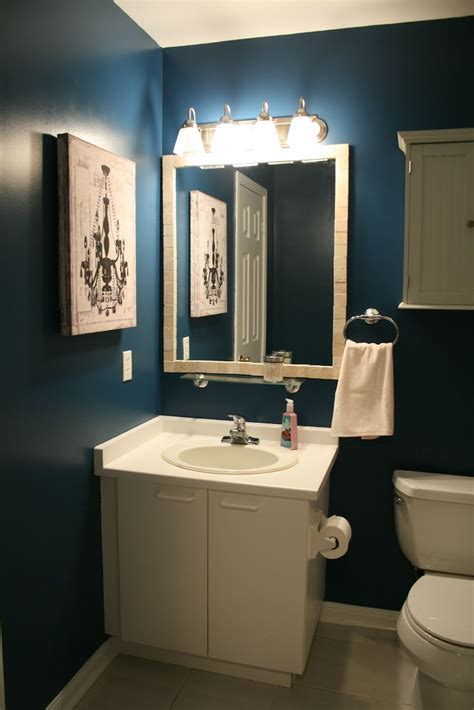 Dark Blue Bathroom Ideas | dark blue bathroom designs blue and brown bathroom designs