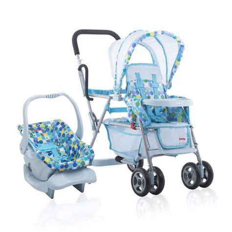 Joovy Toy Doll Caboose Pretend Play Stroller & Car Seat