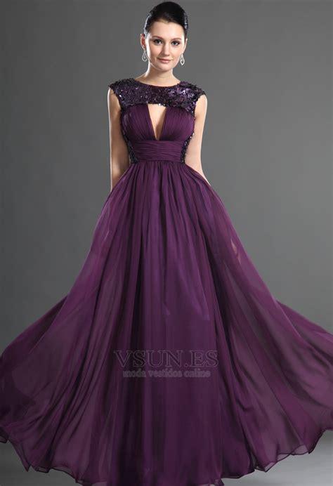 color uva vestido color uva