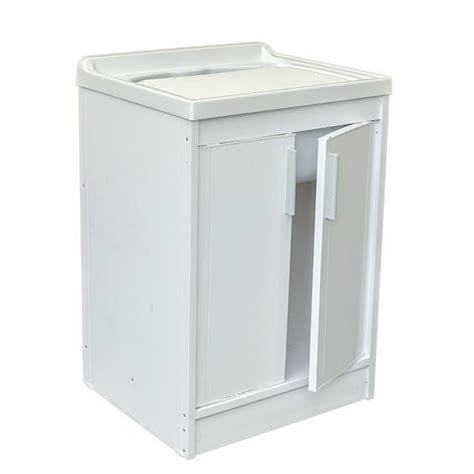 Meuble Evier Buanderie meuble 233 vier en resine 2 portes pour buanderie achat