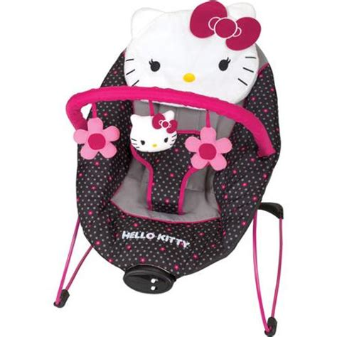 hello kitty swing for babies baby trend hello kitty bouncer walmart com