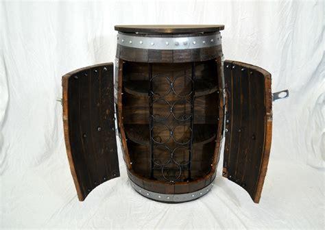 wine barrel whiskey barrel liquor cabinet wine by