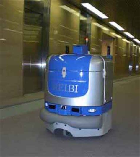 Floor Cleaning Robot  Japanese Office Building  Ride