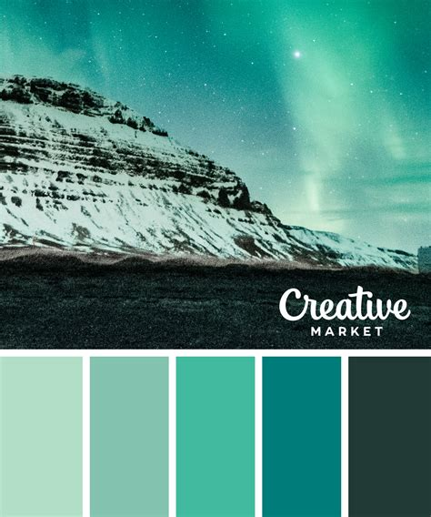 winter green color 15 downloadable color palettes for winter creative