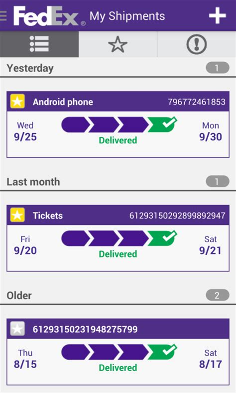 Fedex Search By Address Fedex Mobile Android Apps On Play