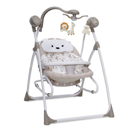 baby electric swing electric baby bouncer swing cangaroo swing beige