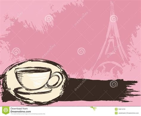 Grungy French Coffee Background Stock Photo   Image: 10811270