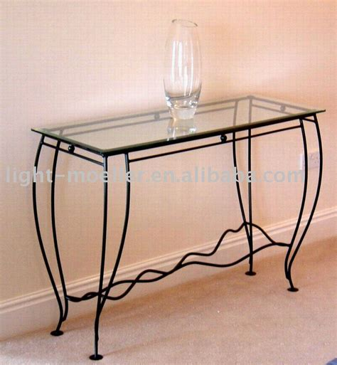 iron sofa table base console table design best wrought iron console table base