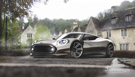 kia supercar mini smart tesla kia and fiat 124 imagined as excellent