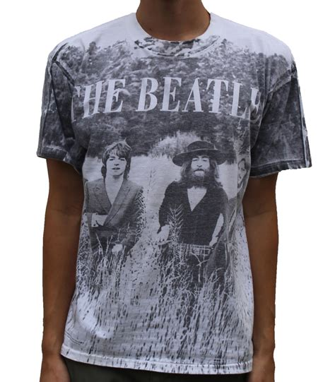 Kaos T Shirt The Beatles 05 vintage the beatles black and white graphic t shirt size l roots