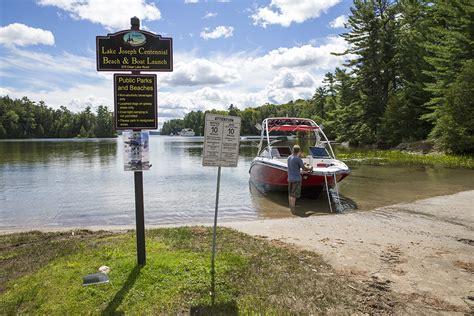 public boat launch gilford ontario making memories in muskoka boating on lake joseph