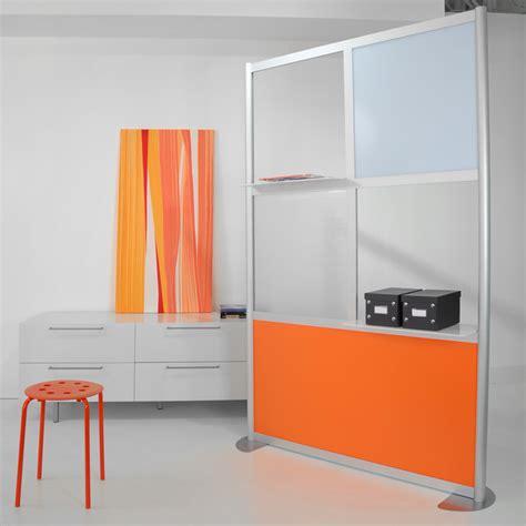 modern room dividers 4 modern room divider white and orange panels modern