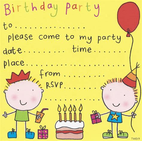 Party Invitations Birthday Party Invitations Kids Party Invitations Children S Party Invites Free Childrens Invites Templates