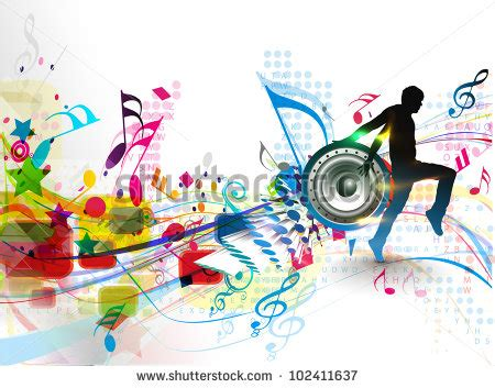 event layout vector rockstar playing on guitar vector stock vector 101149213