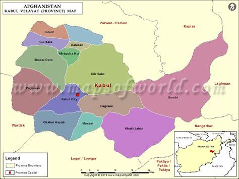 kabul map map  kabul province velayat afghanistan