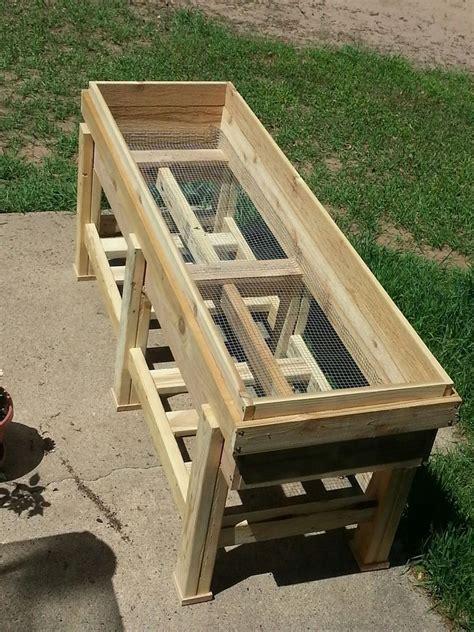 Waist High Raised Garden Bed Plans by Waist High Planter Box