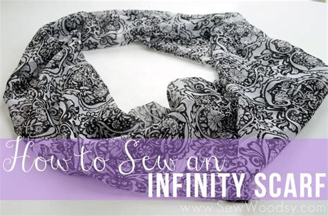sewing pattern for infinity scarf how to sew an infinity scarf from sewwoodsy com diy