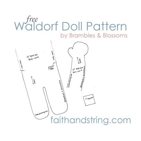 pattern making pdf file making a waldorf doll part 3 body and pattern faith