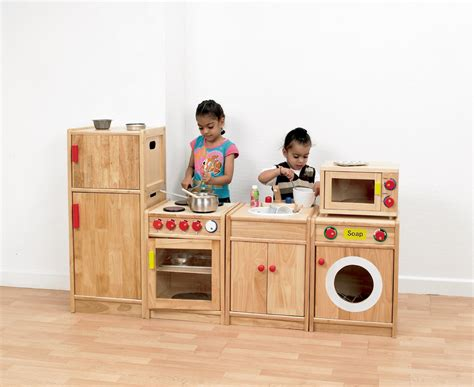 Cheap Wooden Childrens Kitchens by 5 Solid Hardwood Kitchen Pretend Play Kitchen