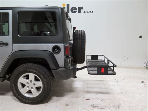 Cargo Carrier Jeep Wrangler Jeep Wrangler Unlimited 20x60 Curt Cargo Carrier For 2