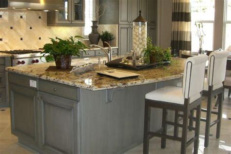gray countertops with brown cabinets 17 ideas about brown granite on traditional