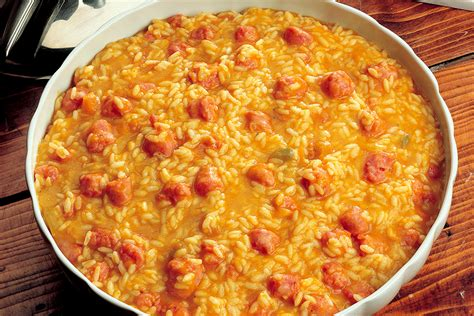 ricette cucina zucca ricetta risotto di zucca e salsiccia la cucina italiana