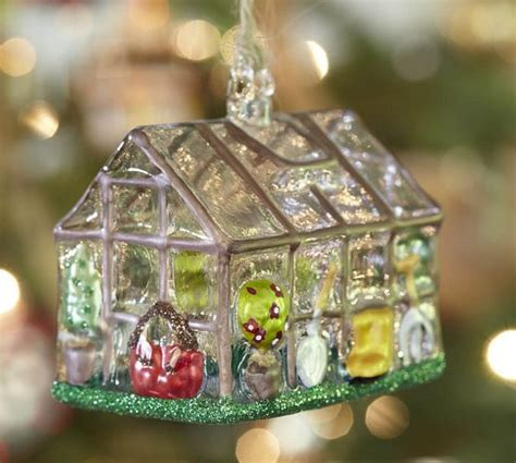 greenhouse ornament pottery barn office tree