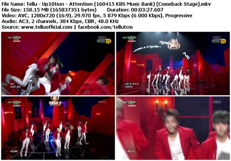 download mp3 up10tion attention download perf up10tion attention kbs music bank