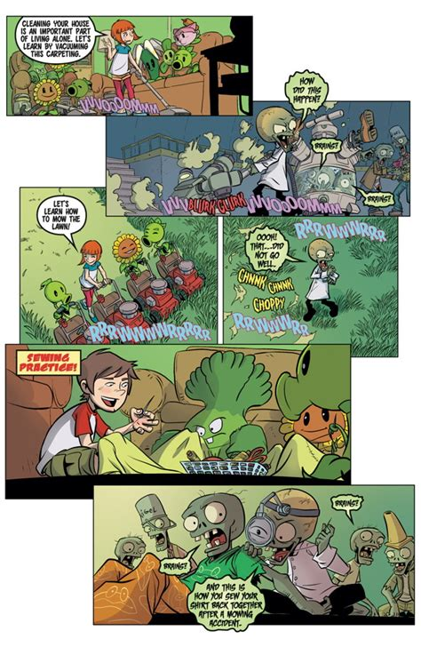 plants vs zombies volume 4 grown sweet home plants vs zombies 5 grown sweet home at tfaw