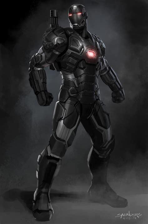 phil saunders concept designer iron man