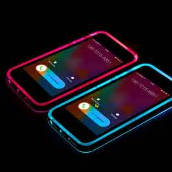 phone that lights up incoming call led lights up frame phone cover for