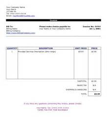 Free Simple Invoice Template Word by Simple Invoice Template Free To Do List