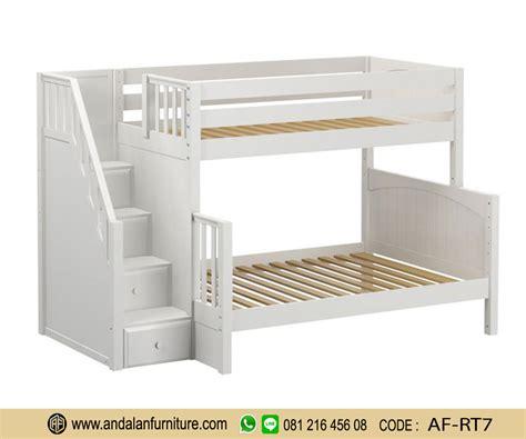 Ranjang Tingkat Minimalis 7 ranjang tingkat putih elegan minimalis furniture jepara klasik perabot mebel ukir