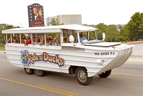 duck boat enclosed ride the ducks branson table rock lake adventure