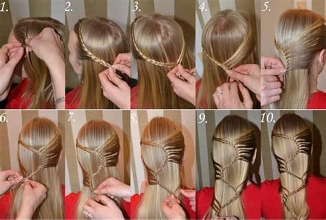 Diy Beautiful beautiful snake hairstyle tutorial usefuldiy com