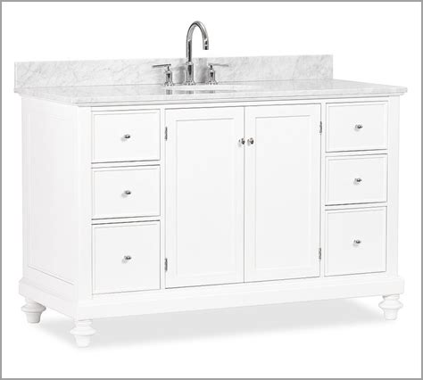 pottery barn vanity bathroom ideas