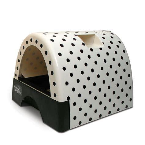 litter box cover kittyagogo designer cat litter box with polka dot cover