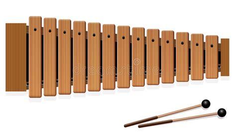 imagenes animadas de xilofono instrumento musical de madera del xil 243 fono ilustraci 243 n del