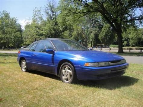 automobile air conditioning service 1995 subaru svx parking system purchase used 1992 subaru svx lsl top model coupe 2 door 3 3l no reserve leather sunroof awd in