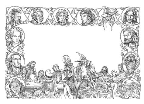 middle earth coloring pages middle earth news this week in middle earth