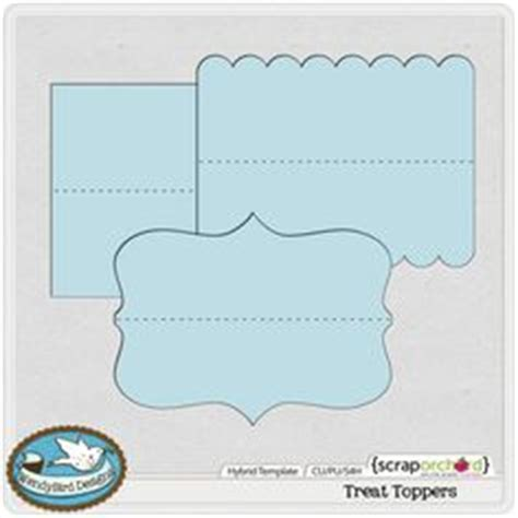 Design Your Own Bag Toppers Free Avery 174 Templates Printable Bag Topper With Bags 4 Per Sheet Treat Label Template
