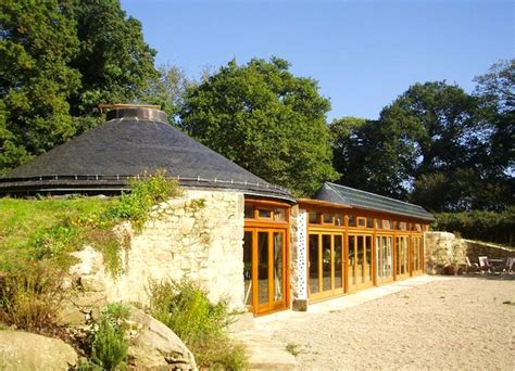 amazing low cost off grid lifehaus homes are made from the solar powered groundhouse in brittany is a designer
