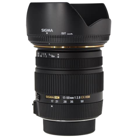 Sigma 17 50mm F 2 8 Ex Dc Os Hsm sigma 17 50mm f 2 8 ex dc os hsm zoom lens for nikon aps c