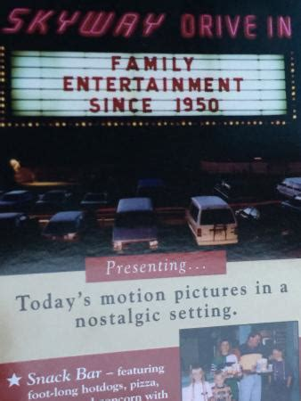 Skyway Drive In Door County by Throwback Family Entertainment Picture Of Skyway Drive In Theatre Fish Creek Tripadvisor