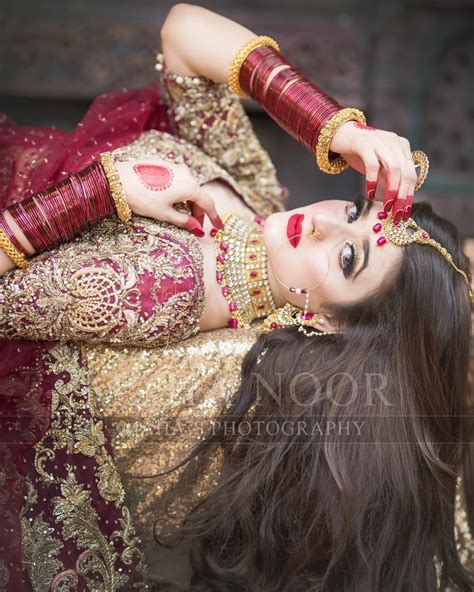 beautiful latest bridal photoshoot  hira mani